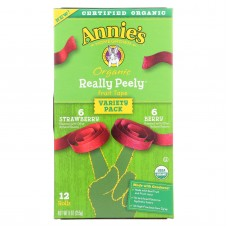 Annies Homegrown Fruit Snack Fruit Tape - Case Of 6 - 9 Oz