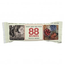 88 Acres Bars - Triple Berry - Case Of 9 - 1.6 Oz.