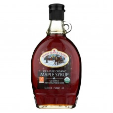 Shady Maple Farms Maple Syrup - Organic - Very Dark - Case Of 12 - 16.9 Fl Oz