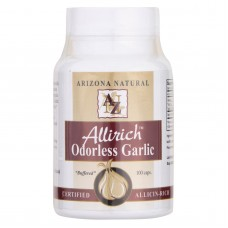 Arizona Natural - Allirich Odorless Garlic - 100 Count