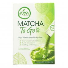 Aiya Tea Stick - Matcha To Go - Case Of 8 - 10 Count