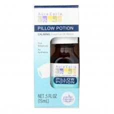 Aura Cacia Pillow Potion Essential Solutions Boxed  - Case Of 3 - .5 Fz