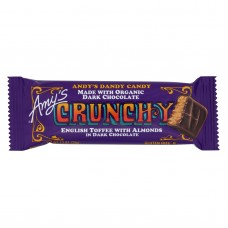 Amys Candy Bar - Organic - Crunchy - Case Of 12 - 1.3 Oz