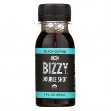Bizzy Coffee Shot - Organic - Black - Case Of 6 - 2 Fl Oz