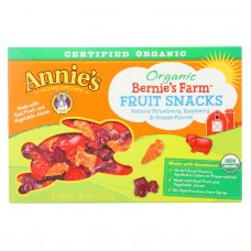 Annies Homegrown Fruit Snack Multipack Bernies Farm Fruit - Case Of 10 - 4 Oz