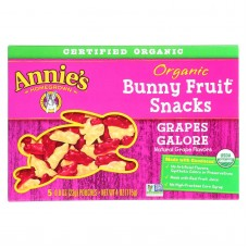 Annies Homegrown Fruit Snack Grapes Galore - Case Of 10 - 4 Oz