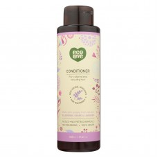 Ecolove Conditioner - Purple Fruit Conditioner For Colored And Very Dry Hair - Case Of 1 - 17.6 Fl Oz.