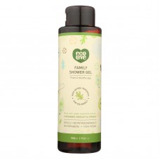 Ecolove Body Wash Green Vegetables Family Shower Gel For Ages 6 Months And Up - Case Of 500 - 17.6 Fl Oz.