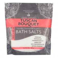 Soothing Touch Bath Salts - Rest & Relax Tuscan Bouquet - 32 Oz