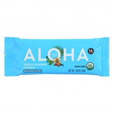 Aloha (bars)  Vanilla Almond Crunch - Case Of 12 - 1.9 Oz