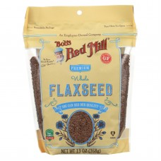 Bobs Red Mill Flaxseeds - Gluten Free - Case Of 6 - 13 Oz