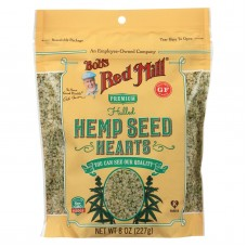 Bobs Red Mill Hemp Seeds - Hulled - Case Of 6 - 8 Oz