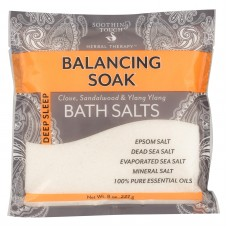 Soothing Touch Bath Salts - Balancing Soak - Case Of 6 - 8 Oz