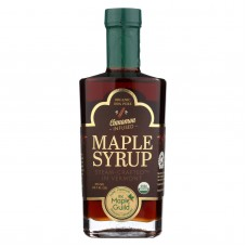 The Maple Guild Organic Maple Syrup - Cinnamon Infused - Case Of 6 - 375 Ml