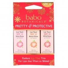 Babo Botanicals Tinted Lip Balm - Holiday- .45 Oz.