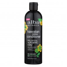 Alba Botanica Conditioner - Hawaiian Detox - Daily - 12 Fl Oz