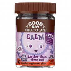 Good Day Chocolate - Calm Supplement For Kids - 50 Count