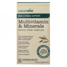 Naturewise - Stress Suppprt Multivitamin And Minerals - 60 Vcap